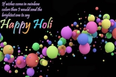Advance Holi 2014 Messages Quotes Wishes Greetings in English