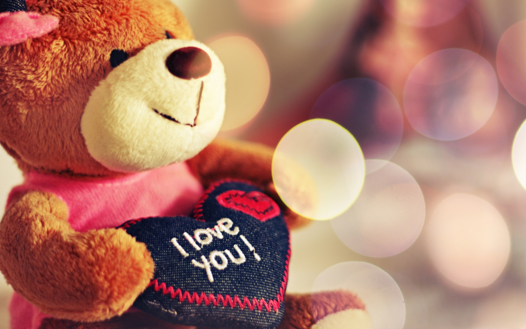 Love You Teddy Bear Wallpapers HD Wallpapers